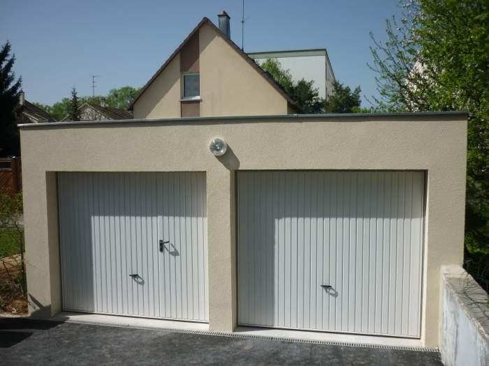 mv services creation garage double independant
