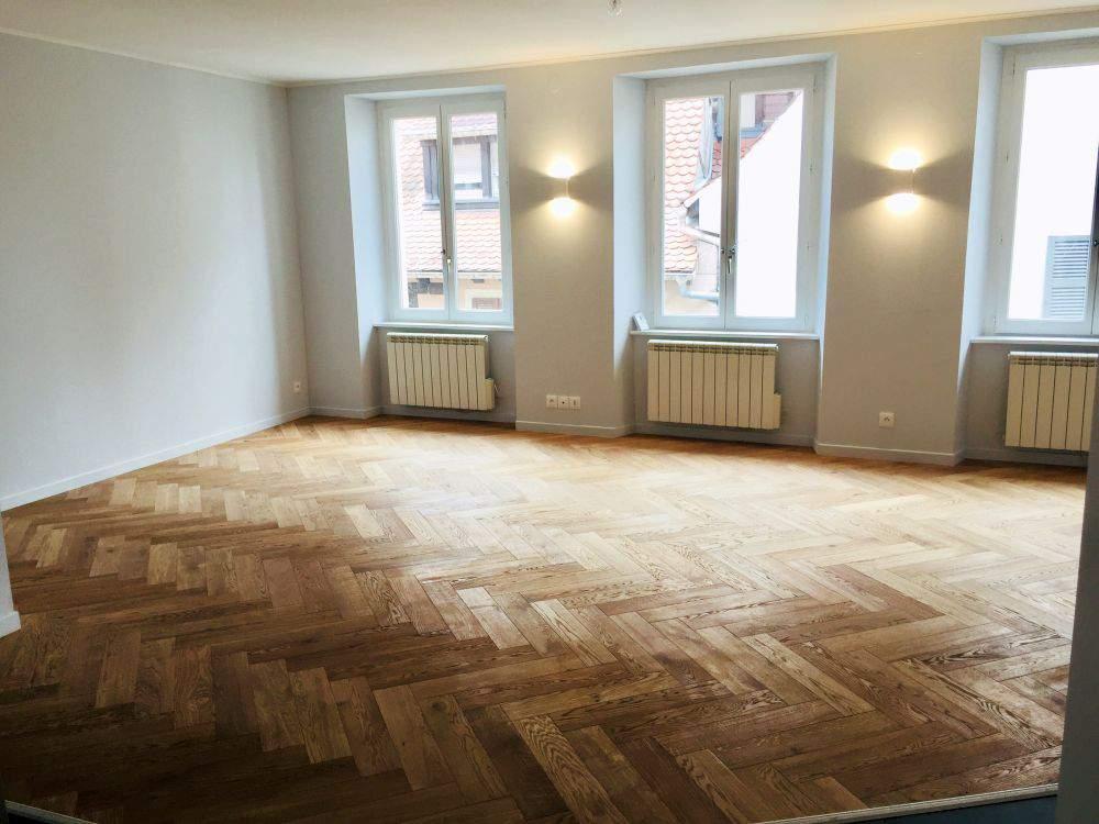 Rénovation complète d'un appartement au centre ville de Mulhouse (68) - MV Service