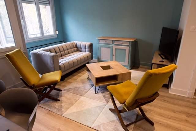 Rénovation et ameublement d'un appartement à Mulhouse - MV Service