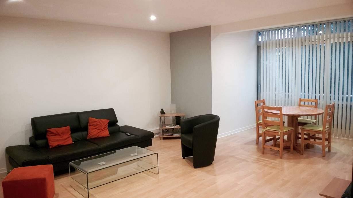 Rénovation du salon / séjour d'un appartement - MV Service