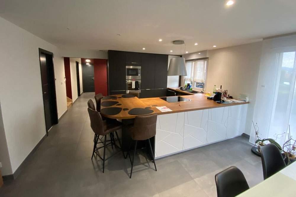 Rénovation et aménagement d'une cuisine